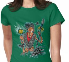 crow shaman Womens Fitted T-Shirt