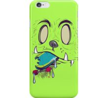 Bigfoot Eating Your Skateboard iPhone Case/Skin