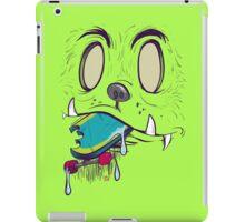 Bigfoot Eating Your Skateboard iPad Case/Skin