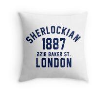Sherlockian Throw Pillow