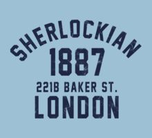 Sherlockian Kids Clothes