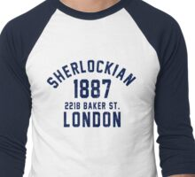 Sherlockian Men's Baseball ¾ T-Shirt