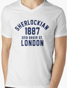 Sherlockian Mens V-Neck T-Shirt