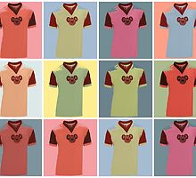 Half Man Half Biscuit - Dukla Prague Away Kit by FreakMonkey