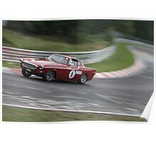 Volvo p1800 Poster