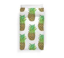Perky Pineapple  Duvet Cover