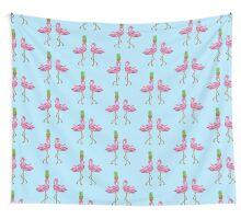 burlesque flamingos Wall Tapestry