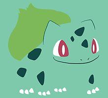 Pokemon - Bulbasaur #001 (no background) by AronGilli by AronGilli