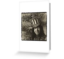"Jerry Garcia ""Captain Trips"" Grateful Dead Shirt Greeting Card"