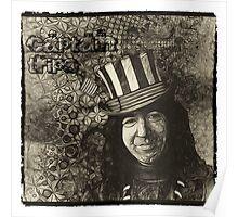 "Jerry Garcia ""Captain Trips"" Grateful Dead Shirt Poster"