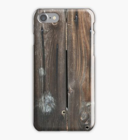 Wood Fence Digital Look A Likes iPhone Case/Skin