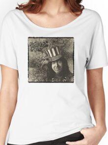 """Jerry Garcia """"Captain Trips"""" Grateful Dead Shirt Women's Relaxed Fit T-Shirt"""