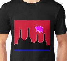 PINK FLOYD FLYING PIG OVER BATTERSEA Unisex T-Shirt