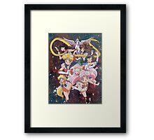 Sailor Scouts Framed Print