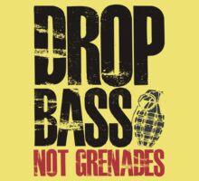 Drop Bass Not Grenades (black/red) Kids Clothes