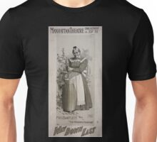 Performing Arts Posters Mrs Bartlett in Way down East 2894 Unisex T-Shirt