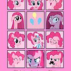 Faces of Pinkie Pie by BowserBasher