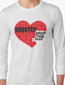 Drop the Bass Puzzle  Long Sleeve T-Shirt
