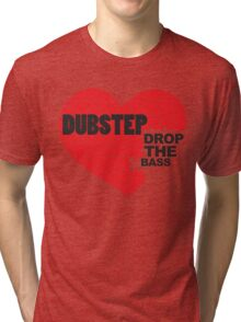 Drop the Bass Puzzle  Tri-blend T-Shirt