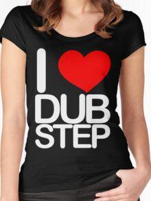 I love dubstep (light) Women's Fitted Scoop T-Shirt