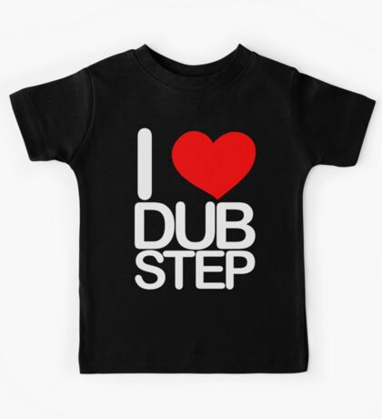 I love dubstep (light) Kids Tee