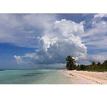 Cayo Guillermo beach Photographic Print