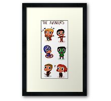 THE AVENGERS (◠‿◠) Framed Print