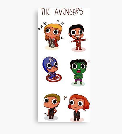 THE AVENGERS (◠‿◠) Canvas Print
