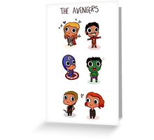THE AVENGERS (◠‿◠) Greeting Card
