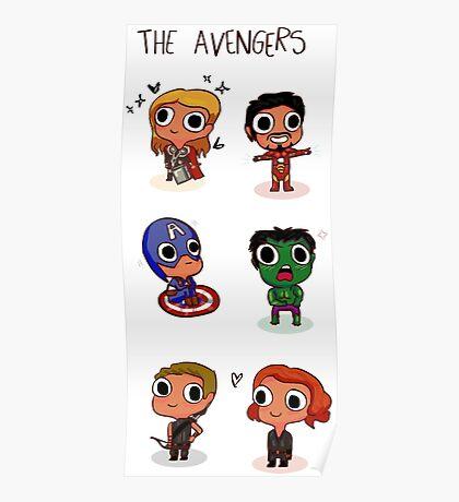 THE AVENGERS (◠‿◠) Poster