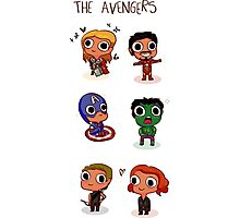 THE AVENGERS (◠‿◠) Photographic Print