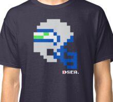 Tecmo Bowl - Seattle - 8-bit - Mini Helmet shirt Classic T-Shirt