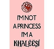 Khaleesi Photographic Print