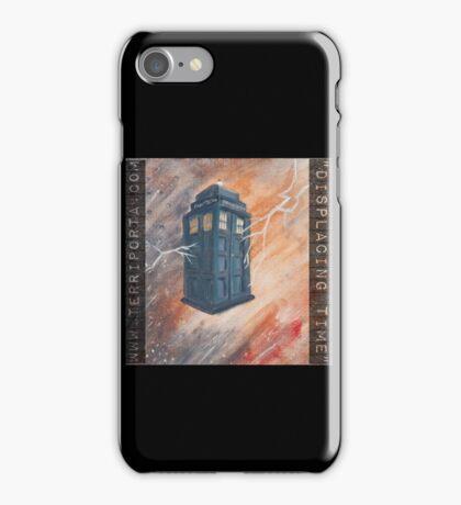 """Displacing Time"", the Tardis iPhone Case/Skin"