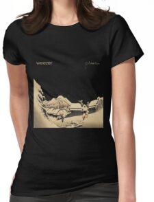 weezer pinkerton album cover heru Womens Fitted T-Shirt