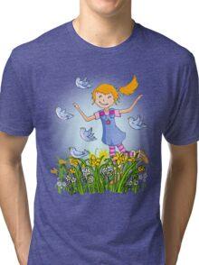 Spring's in the air Tri-blend T-Shirt