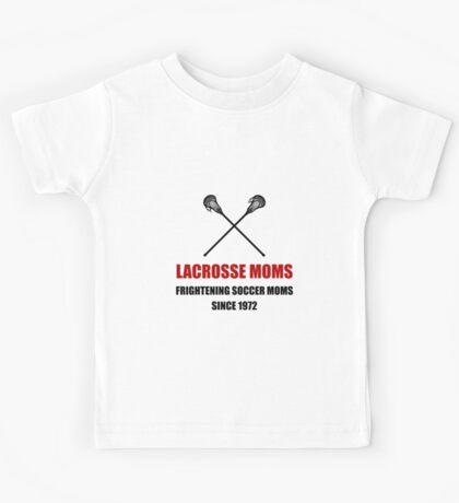 Lacrosse Frightening Soccer Moms Kids Tee