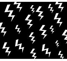Bolt Black Photographic Print