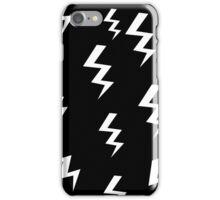 Bolt Black iPhone Case/Skin