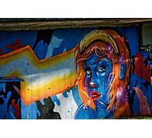 Graffiti / Street Art in Canberra/ACT/Australia (1) Photographic Print