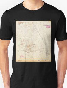 USGS TOPO Map Arizona AZ San Francisco Mtns 315598 1891 250000 Unisex T-Shirt