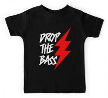 Drop The Bass (dark) Kids Tee