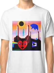 PINK FLOYD ECLIPSED BATTERSEA Classic T-Shirt