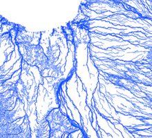 Gulf floodplains of Queensland, Australia Sticker