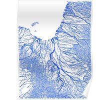 Gulf floodplains of Queensland, Australia Poster
