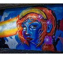 Graffiti / Street Art in Canberra/ACT/Australia (2) Photographic Print