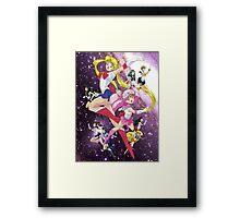 Sailor Scouts Ver.2 Framed Print