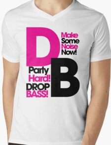 DB drop bass Mens V-Neck T-Shirt