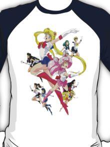Sailor Scouts Ver.2 T-Shirt