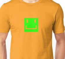 THE Green Smiley Face Unisex T-Shirt